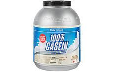 Казеїновий Протеїн Body Attack 100% Casein Protein - 1,8 kg. (ПОЛУНИЦЯ)