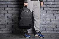 Спортивный городской рюкзак NIKE AIR, премиум-качество меланж, цвет темно-серый