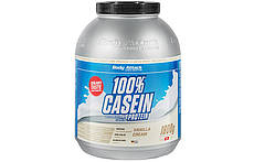 Казеиновый Протеин Body Attack100% Casein Protein - 1,8  kg. (ПЕЧЕНЬЕ И КРЕМ)