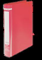 Папка на 2-х кольцах А4 JOBMAX,  ширина торца 25 мм, красный
