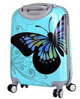 Дорожный чемодан 36л с рисунком