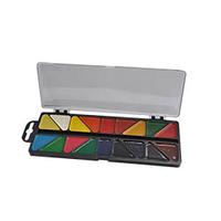 Акварельные краски 18 цветов, пластик. белый футляр, KIDS Line ZB.6523 ZiBi (отеч.пр-во)