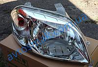 Фара передняя для Chevrolet Aveo Т250 '06- правая (FPS) механич