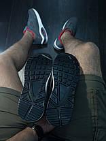 Кроссовки мужские серо - красные, фото 3