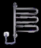 Полотенцесушитель ELNA Флюгер 3 поворотный Нерж с регулятором