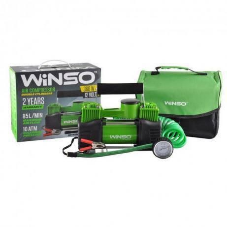 Автомобильный компрессор Winso 125000 Uragan 90170 Ураган 90170 Польша