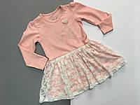 Платье для девочки с гипюровой юбкой