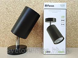 Светильник бра Feron AL530 COB 18W черный