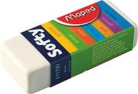 Ластик SOFTY в картонном держателе MP.511790 Maped