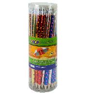 Карандаш графитовый STARS, HB, с ластиком, 48 шт. в тубе, KIDS Line ZB.2310 ZiBi (импорт)