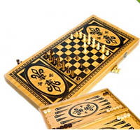 Игровой набор 3 в 1 Шахматы, Шашки, Нарды