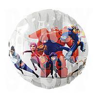Фольгированный шарик Город Героев, 45*45 см
