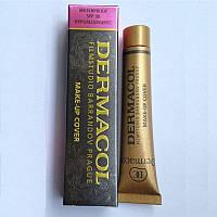 Тональный крем Dermacol Make-up Cover 207, 208, 209, 210, 211, 212, 213, 215, 218, 221, 222 ad