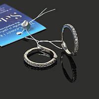 Серебряные серьги кольца 15 мм