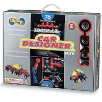 Конструктор ZoobMobile Car Designer 76 деталей и 12 колес