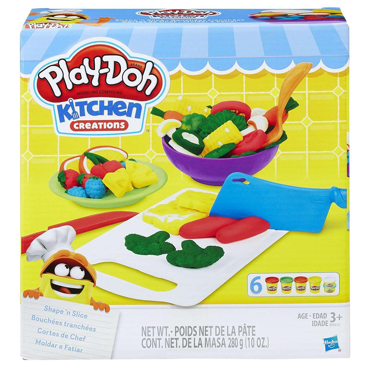 Play Doh ИГРОВОЙ НАБОР   ПРИГОТОВЬ И НАРЕЖЬ НА ДОЛЬКИ