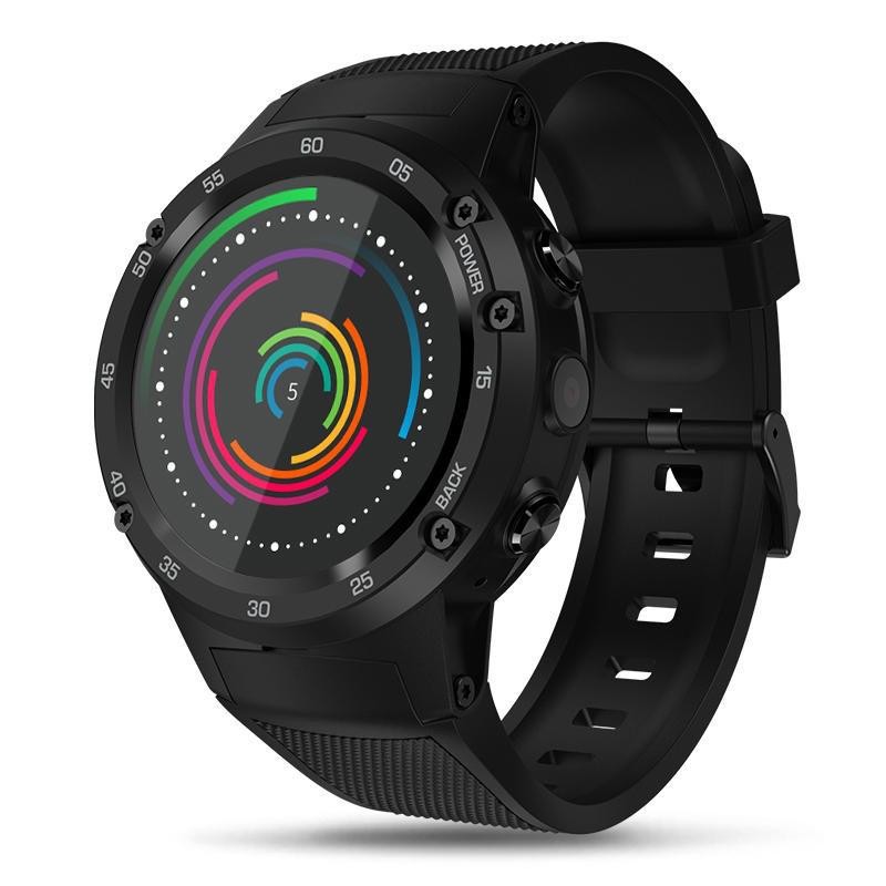 Умные часы Smart Watch Zeblaze THOR 4 Black 1/16gb MTK6737 (Single SIM) 580 мАч