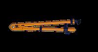 Циркуль TEACHER для школьной доски, желтый ZB.5398 ZiBi (импорт)