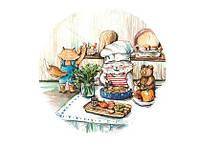 "Поштова листівка ""let's cook"""