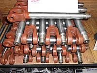 Шток гидроцилиндра ЦС-100х200, широко применяемого в задней навеске тракторов МТЗ, ЮМЗ
