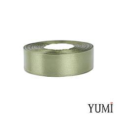 Лента (тесьма) атласная (сатин) 25 мм ХАКИ 8081