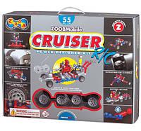 Конструктор ZoobMobile Cruiser 55 деталей и радиоуправление