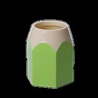 Подставка для ручек КАРАНДАШ, пластик, салатовая, KIDS Line ZB.3004-15 ZiBi (импорт)