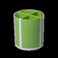 Подставка для пишущих принадлежностей ТВИСТЕР салатовая, 4 отделения, KIDS Line ZB.3003-15 ZiBi (импорт)