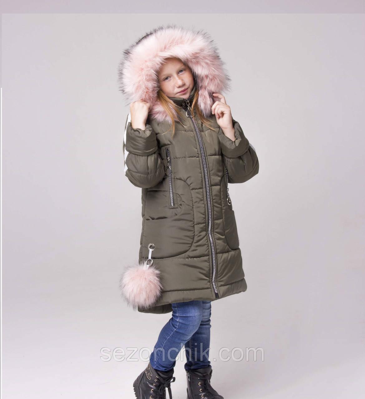 465114ba501 Недорого куртку зимнюю для девочки от производителя стильную ...