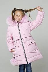 Пальто детское для девочки зимнее пуховик недорого