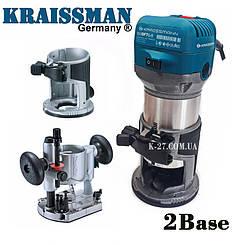 Фрезер-тример Kraissmann 910 OFT 6-8 (2 базы)