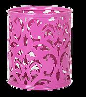 """Подставка для ручек """"BAROCCO"""" BUROMAX, металлическая, розовый BM.6204-10 Buromax (импорт)"""