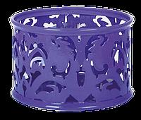 """Подставка для скрепок """"BAROCCO"""", металлическая, фиолетовый, Buromax , BM.6222-07"""