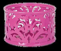 """Подставка для скрепок """"BAROCCO"""", металлическая, розовый, Buromax , BM.6222-10"""