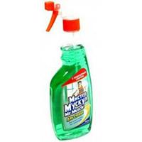 """Средство для чистки стекла """"Мистер Мускул"""" с распылителем, 500 мл, зеленый, Mr. Muscul, w.00153"""
