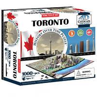 Пазл 4D Историческая модель Торонто объемный пазл 4D Cityscape Toronto Time Puzzle
