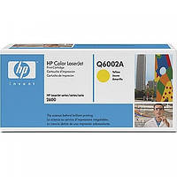 Картридж HP Color LaserJet Q6002A желтый