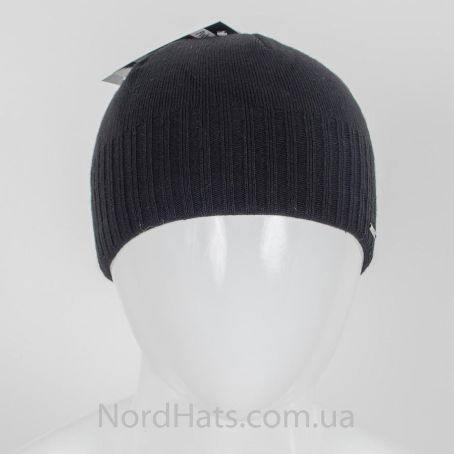 Мужская вязаная шапка, Nord, оптом, черный