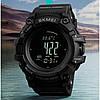 Умные Часы Skmei Processor с Шагомером и Барометром Черные, фото 5