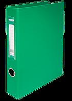Папка регистратор на 4-х кольцах А4 BUROMAX ширина торца 40 мм зеленый BM.3106-04 Buromax