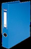 Папка регистратор на 4-х кольцах А4 BUROMAX ширина торца 40 мм синий BM.3106-02 Buromax