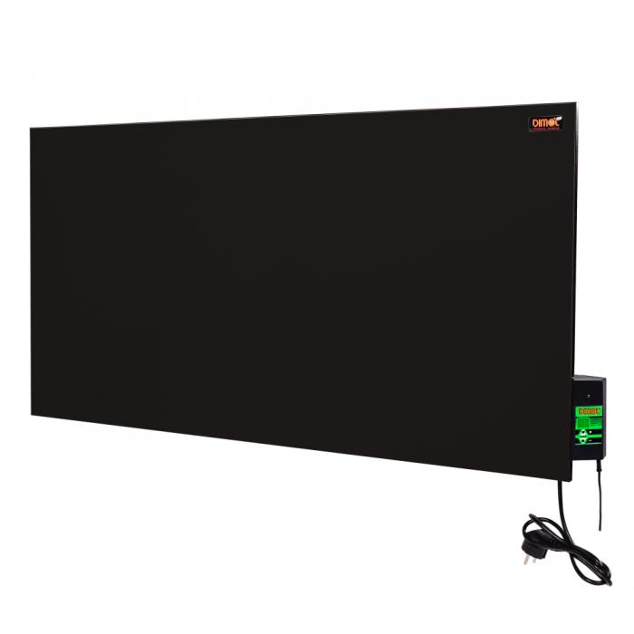 Керамическая панель DIMOL Maxi 05 с терморегулятором (черная)