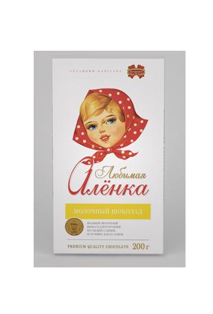 "Копия Молочный шоколад ""Любимая Алёнка"" 200 г, фото 2"