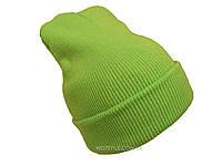 Салатовая шапка