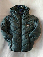 Куртка дитяча р. 92-116, пляшковий