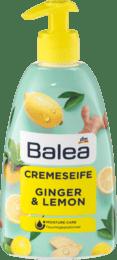 Рідке мило BALEA  CREME SEIFE Ginger & Lemon