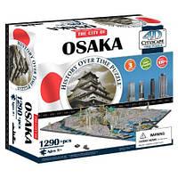 Пазл 4D Историческая модель Осака объемный пазл 4D Cityscape Osaka Time Puzzle