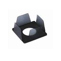 Бокс для бумаги 90х90х45мм, дымчатый BOKSKIPдым. КиП