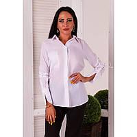 Рубашка женская белая офисная Реймс 1036