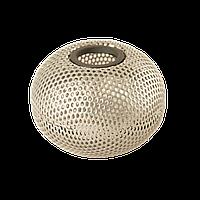 """Магнитная подставка для скрепок """"Шар"""" 75х75х57мм, металлическая , серебро, Buromax , BM.6220-24"""
